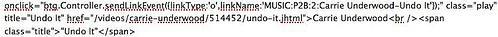 onclick javascript textlink