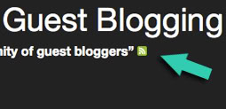 RSS feed for all your blog mentions